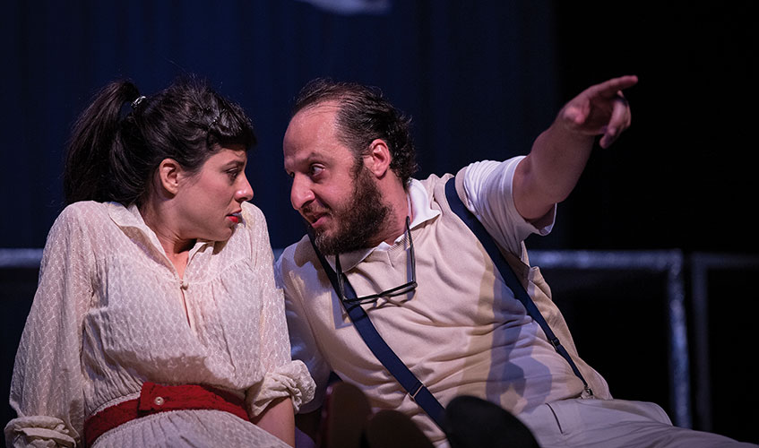 Gabbiano - Teatro di Dioniso